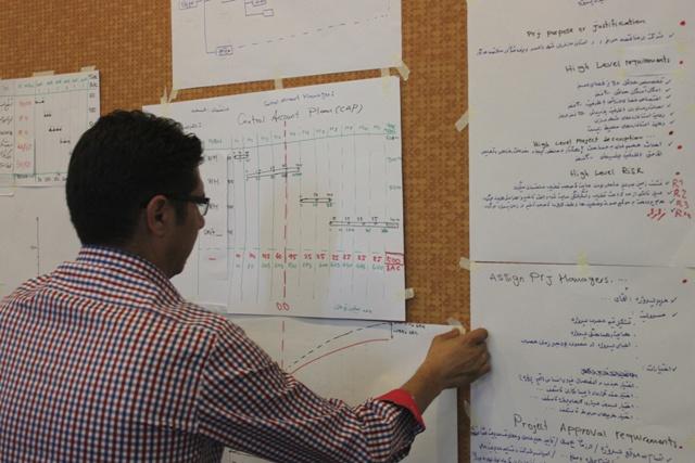 کارگاه مدیریت پروژه بر اساس استاندارد PMBOK